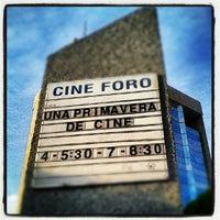 Photo taken at Cineforo Universidad by Tapatío M. on 5/10/2012