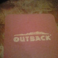 Photo taken at Outback Steakhouse by Randy B. on 8/17/2012