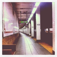 Photo taken at MTA Subway - 103rd St (1) by George R. on 7/26/2012
