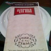Foto tirada no(a) A Firma Pizzas por Daniel B. em 6/7/2012