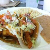 Photo taken at Tacos Baja Ensenada by Chris L. on 6/23/2012