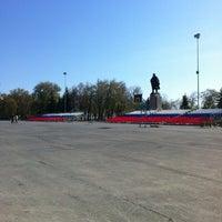 Снимок сделан в Площадь Ленина пользователем Tim L. 4/28/2012