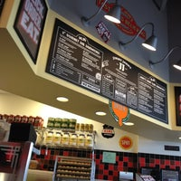 Photo taken at Jimmy John's by Dale C. on 4/10/2012