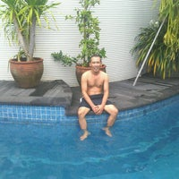 Photo taken at Pool Cluster Swimming Pool by agus w. on 7/13/2012