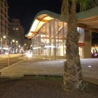 Photo taken at Estación de Goya by Clara G. on 8/27/2012