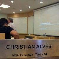Photo taken at MBA Executivo - COPPEAD by Christian A. on 3/3/2012