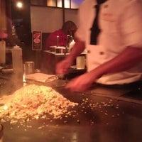 Photo taken at Kobe Japanese Steakhouse & Sushi Bar by Brandi B. on 8/4/2012