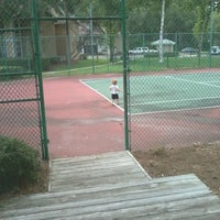 Photo taken at waterford tennis courts by Donnie J. on 5/17/2012