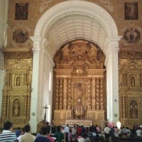 Photo taken at Basilica of Bom Jesus by Amritans S. on 3/17/2012