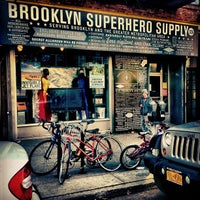 Photo taken at Brooklyn Superhero Supply Co. by Chris M. on 3/7/2012