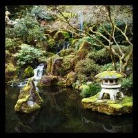 Photo taken at Portland Japanese Garden by Pete B. on 4/22/2012