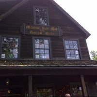 Photo taken at Meadow Run Mill And General Store by Melissa H. on 5/16/2012