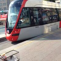 Photo taken at Sirkeci Tramvay Durağı by Erdem A. on 7/20/2012