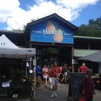 Photo taken at Ithaca Farmers Market by Todd H. on 8/18/2012