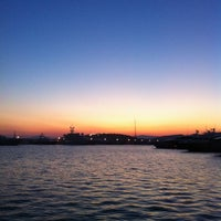 Photo taken at Flisvos Marina by Manos K. on 6/28/2012