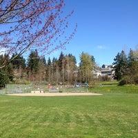 Photo taken at Logan Park by Leena P. on 4/13/2012