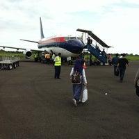 Photo taken at Fatmawati Soekarno Airport (BKS) by Marsya M. on 5/19/2012