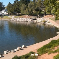Photo taken at Eisenhower Park by Ruben G. on 2/9/2012