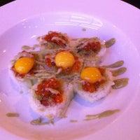 Photo taken at Fin Sushi & Sake Bar by Mike L. on 8/10/2012