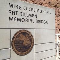 Photo taken at Mike O'Callaghan-Pat Tillman Memorial Bridge by Arthür A. on 7/7/2012