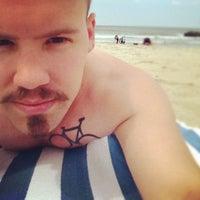 Photo taken at Asbury Park Beach by Edgar W. on 6/3/2012