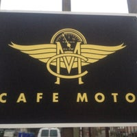 Photo taken at Cafe Moto by Chase M. on 6/28/2012