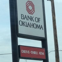 Photo taken at Bank of Oklahoma by A & J D. on 6/21/2012