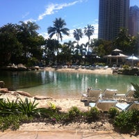 Photo taken at Surfers Paradise Marriott Resort & Spa by Eleanor C. on 7/30/2012