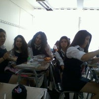 Photo taken at Liceo 7 Providencia by Caaro R. on 3/19/2012
