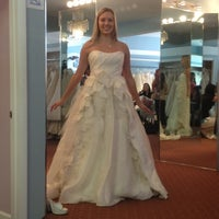 Photo taken at Ellie's Bridal Boutique by Amy P. on 8/25/2012