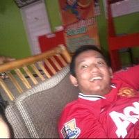 Photo taken at Panglima futsal by Tio A. on 2/12/2012