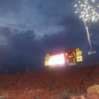 Photo taken at Lane Stadium/Worsham Field by Tarik S. on 9/3/2012