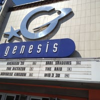 Photo taken at Genesis Cinema by Aivis V. on 5/25/2012
