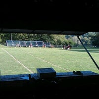 Photo taken at Walland Youth Football Field by Jonathan O. on 9/6/2012