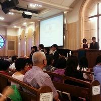 Photo taken at Telok Ayer Chinese Methodist Church by Augustin C. on 7/14/2012