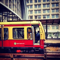 Photo taken at Bahnhof Berlin Alexanderplatz by Stefan M. on 6/19/2012