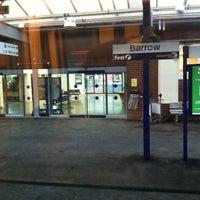 Das Foto wurde bei Barrow-in-Furness Railway Station (BIF) von Mark N. am 4/21/2012 aufgenommen