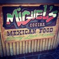 Photo taken at Miguel's Cocina by Marc on 7/28/2012
