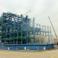 Photo taken at Mong Duong Power Plant Site by Thieu-Bao H. on 6/30/2012