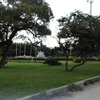 Photo taken at Parque El Ejército by Luis V. on 5/17/2012