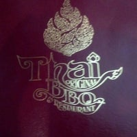 Photo taken at Thai Original BBQ Restaurant by Edi G. on 5/1/2012