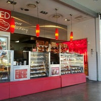 Photo taken at bRED Bakery by Ann L. on 9/11/2012