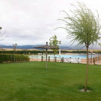 Photo taken at Piscina Valverde del Majano by Gustavo A. D. on 8/15/2012