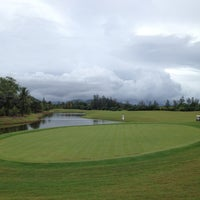 Photo taken at Mission Hills Phuket Golf Resort And Spa by G Y. on 5/4/2012