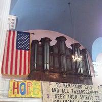 Photo taken at St. Paul's Chapel by Steven K. on 7/2/2012