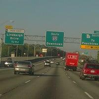 Photo taken at I-85 Exit 88: Cheshire Bridge Road by Derya Y. on 9/1/2012