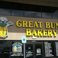 Photo taken at Great Buns Bakery by Mike on 3/12/2012