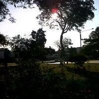 Photo taken at Parque Del Divino Maestro by Miguel B. on 8/29/2012