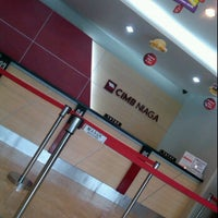 Photo taken at CIMB Niaga by Vincent T. on 2/28/2012