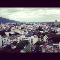 Photo taken at Pornping Tower Hotel by YiNggloRy P. on 6/18/2012